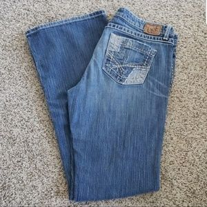 "Buckle BKE ""Sabrina"" Stretch Long Tall Blue Jeans"